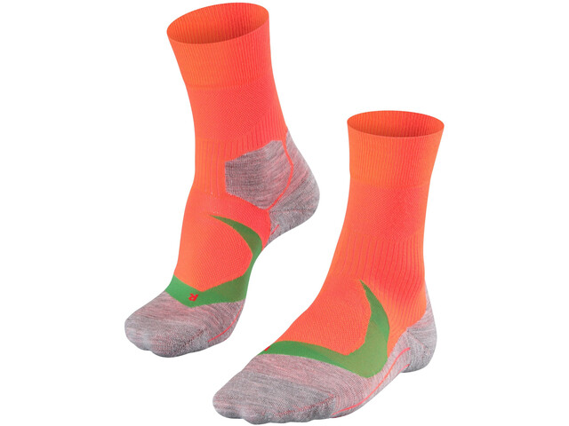 Falke RU 4 Cool Chaussettes Homme, neon red